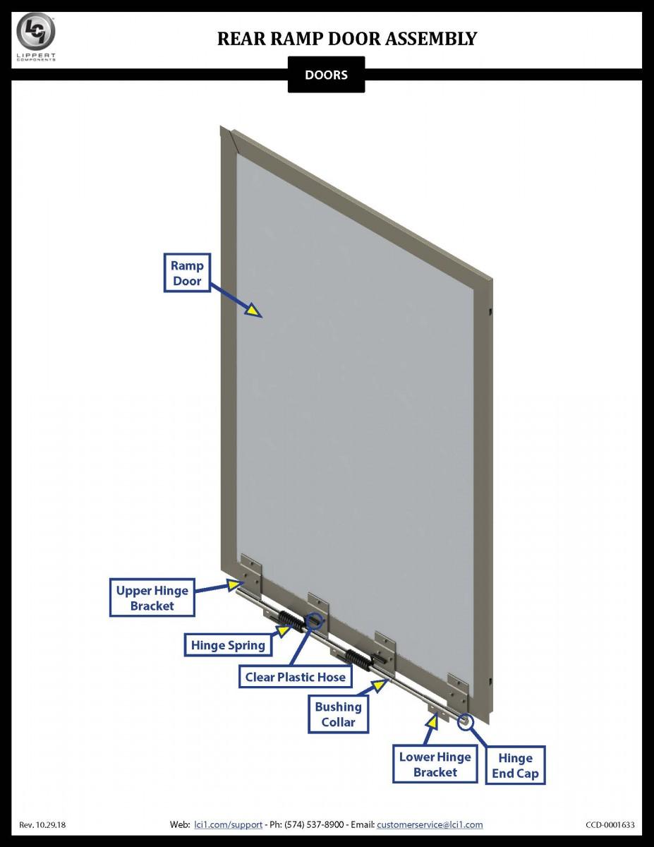 Rear Ramp Door Assembly