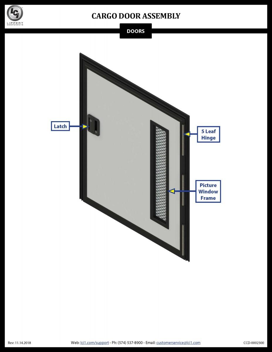 Cargo Door Assembly