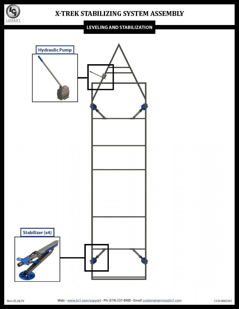 X-Trek Stabilizing System Assembly