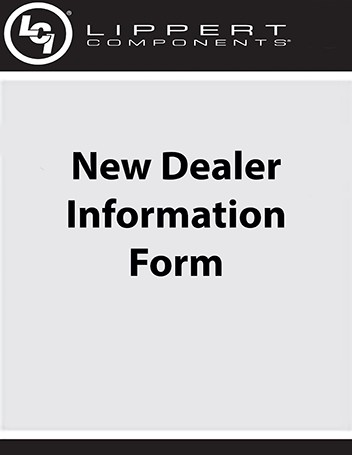 New Dealer Information Form