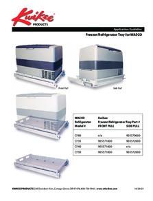 Application Guide Kwikee® Freezer Tray