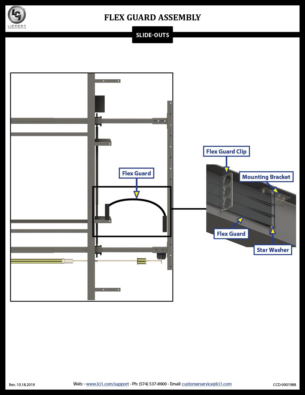 LCI® Flex Guard Assembly
