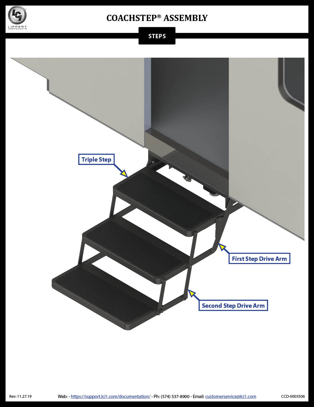 Coachstep® Assembly