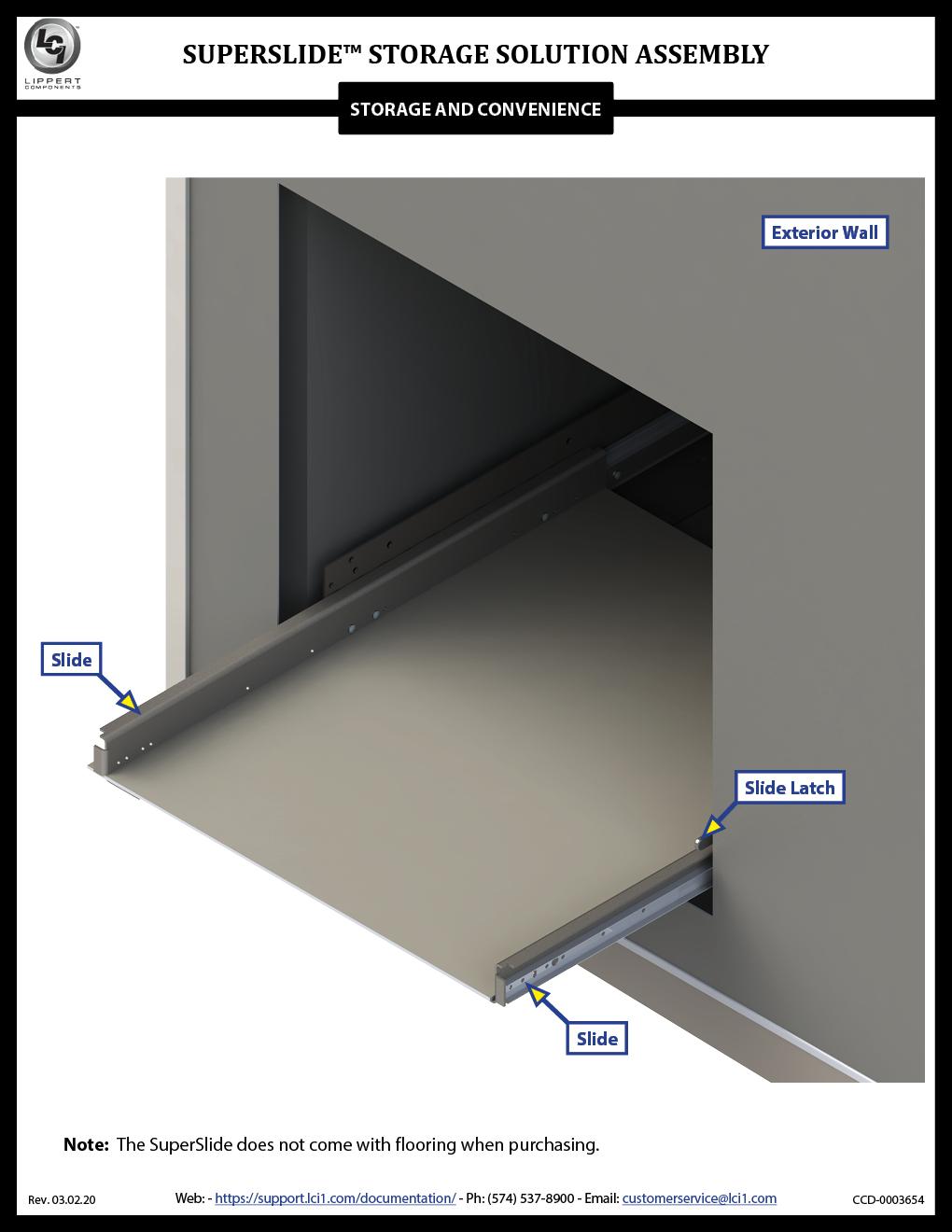SuperSlide™ Storage Solution Assembly