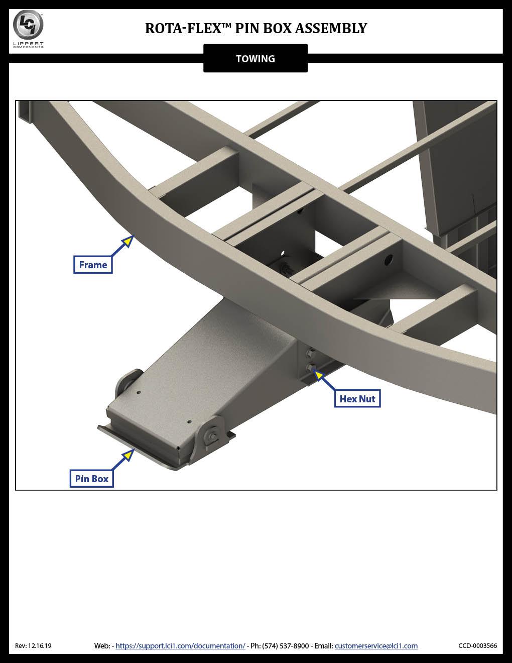 Rota-Flex™ Pin Box Assembly