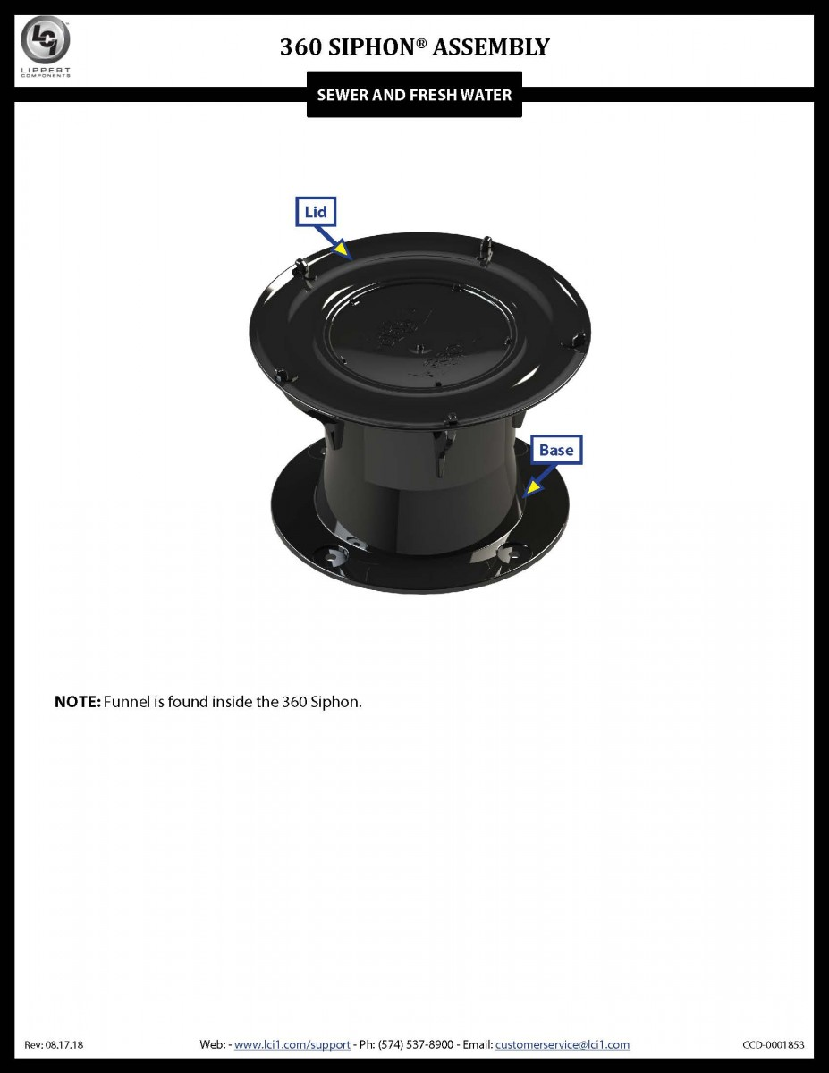 360 Siphon® Assembly