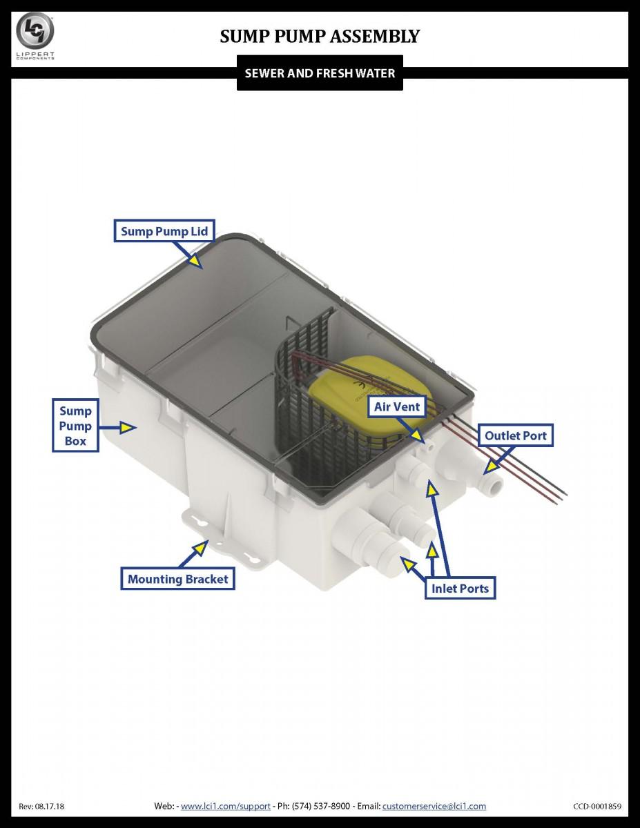 Sump Pump Assembly