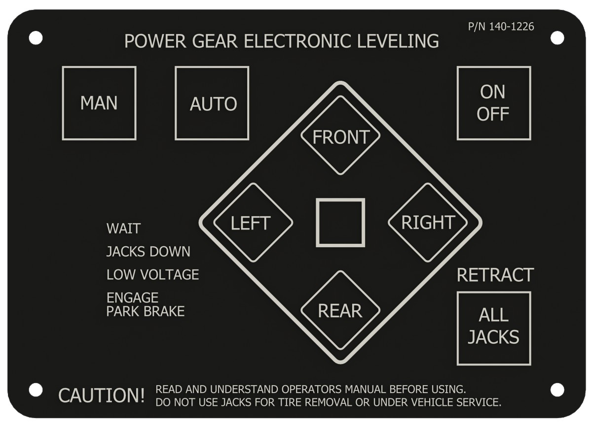 Power Gear® Electric Leveling