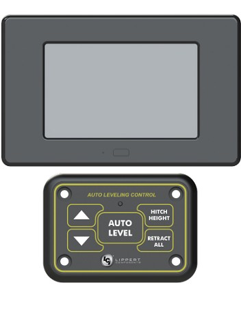 Ground Control® TT Leveling OneControl™ Touch Panel