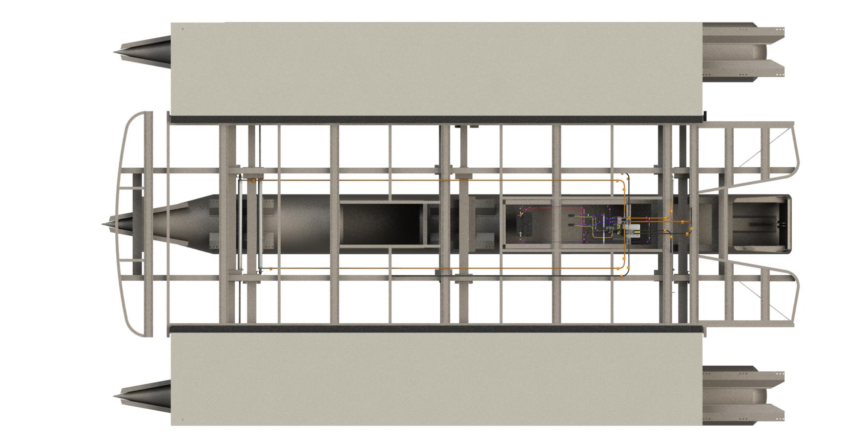 Expandable Pontoon Deck