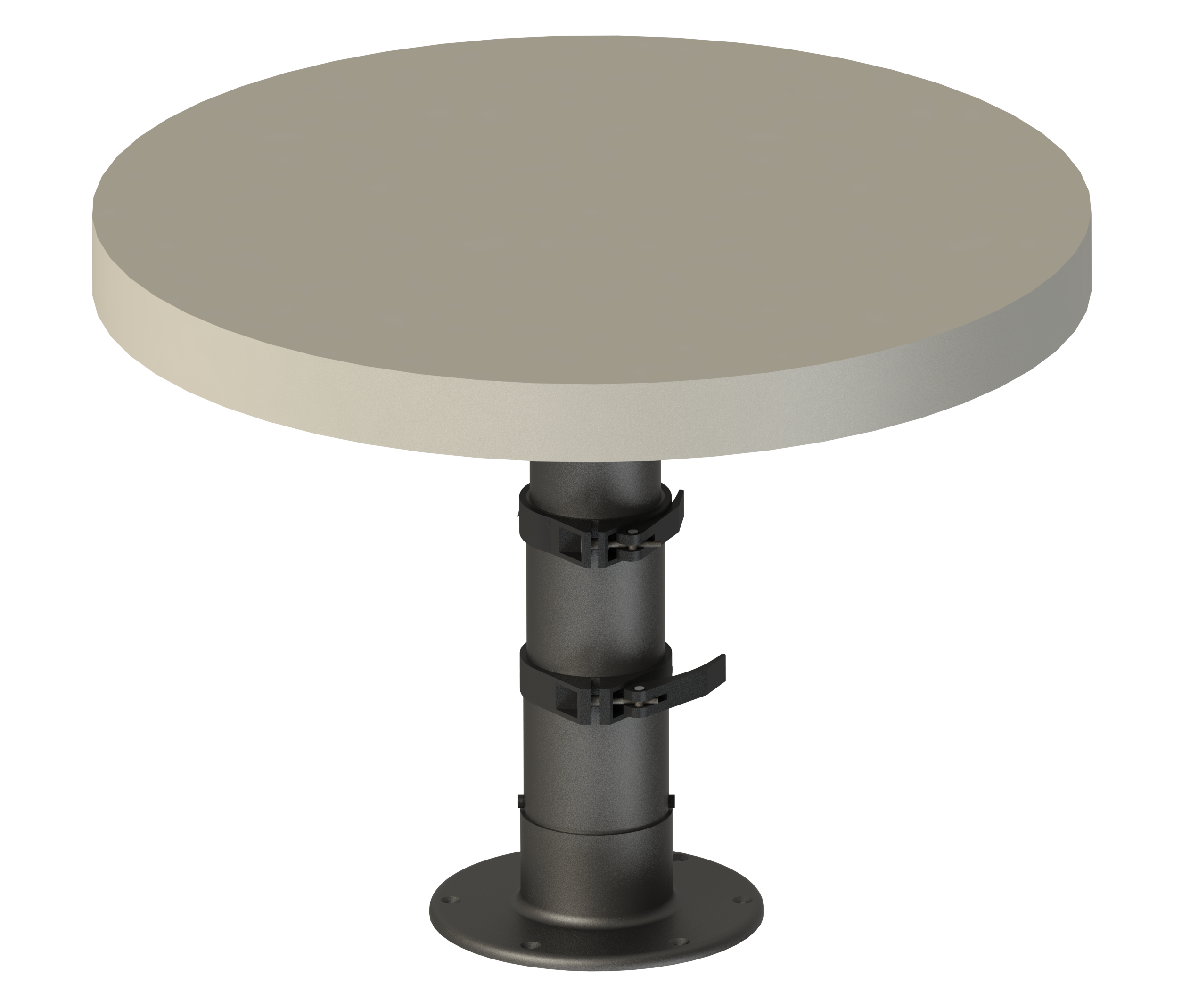 Variable Height Table Pedestal