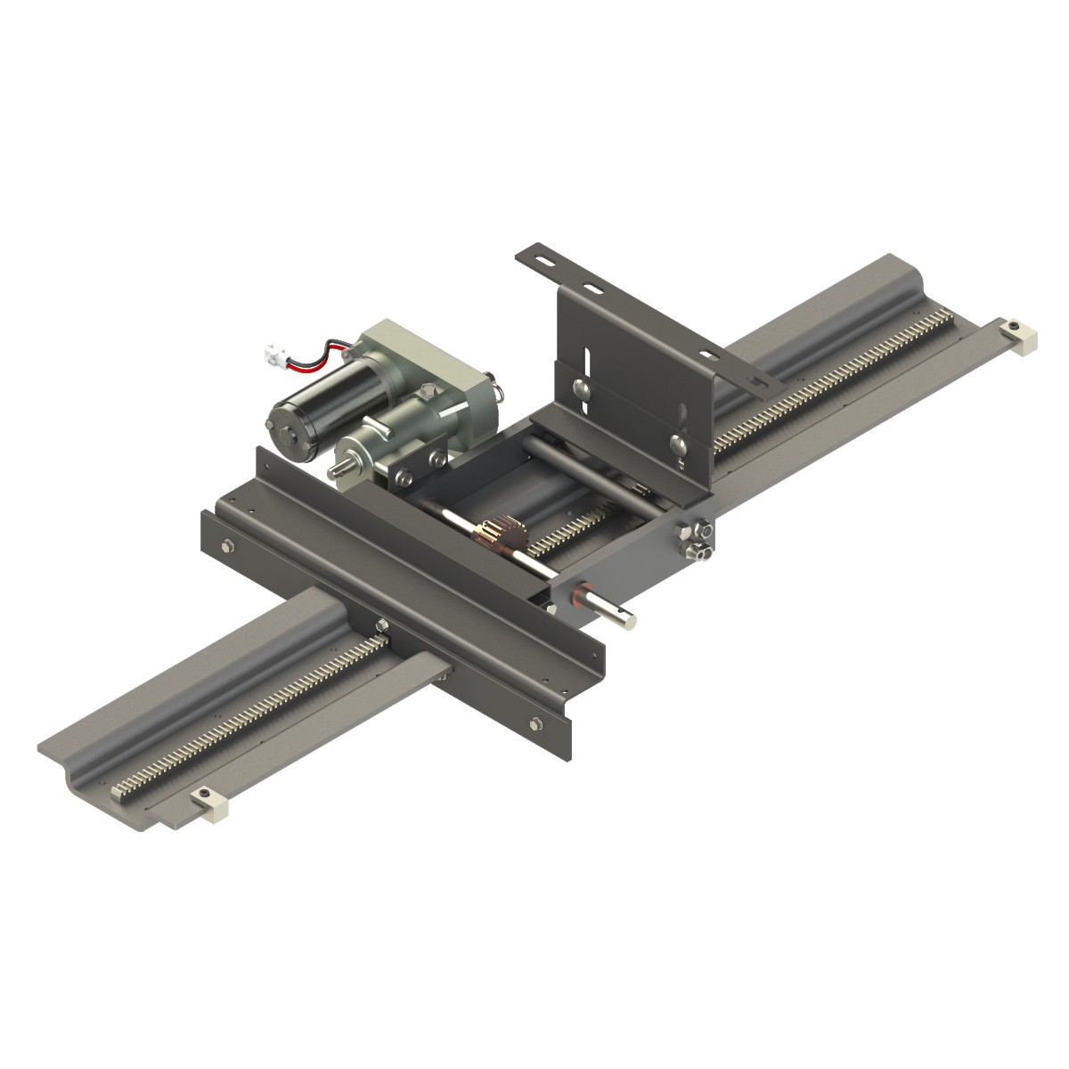 Power Gear® Above Floor Slide-Out System