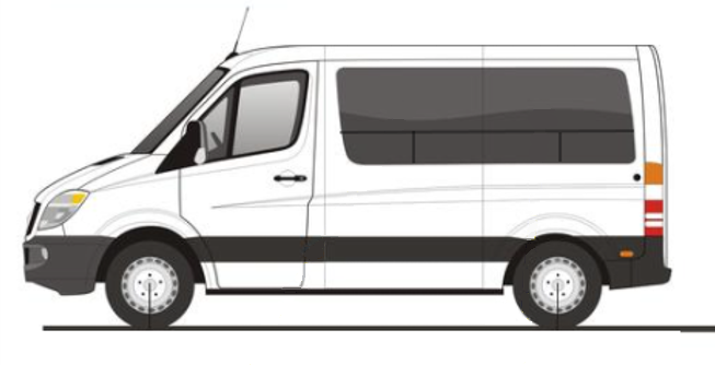 Sprinter Van Windows